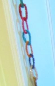 Radko Chain Link Garland