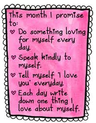Self Love List