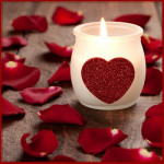 Valentines-Day Candle