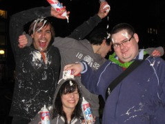RICK and his Friends Celebrating MESSY MARCH in BERLIN, 2012