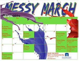 MessyMarchCalendar