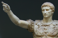 Augustus Caesar...Looks to me LIke a Guy who knew how to Enjoy Life