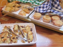 Scones...and Bread Puddings...and Muffins...OH, MY!