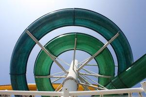 Circular Water Slide