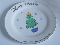 Still Using the Christmas Plates...