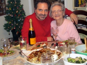 New Year's Day Dinner with Mom