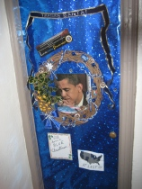 "Our ""I'll Have a Blue Christmas...AT LAST!"" Wreath, following OBAMA's first Election"