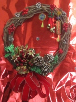 "This Year's Wreath... Simply ""JOY"""