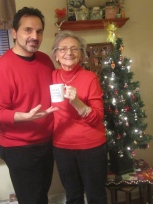 Me and Mom and her New Mug