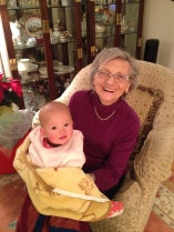 And the Two Most BEAUTIFUL Women in the World... My MOM and my new GRANDNIECE