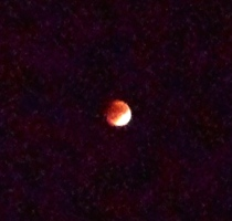 And Another Gift: A Lunar Eclipse of the Super Moon: The Only One that happens between 1982 and 2033