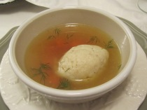 LISA's Most Excellent Matzoh Ball Soup