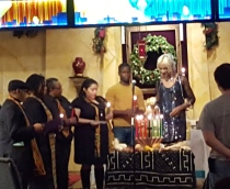 Lighting of the Kwanzza Candles at MCC Church