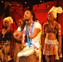 TALU GREEN in the Broadway Musical, FELA!