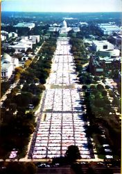 AIDS Quilt on the Great Lawn, 1996