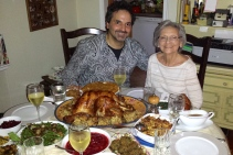 Me and MOM at GivingThanks Day, 2014