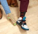 We wear our Christmas Socks to Work! It brings us Cheer!
