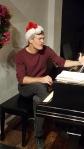 Nathan' sayin' we can't don a Santa Hat while we work