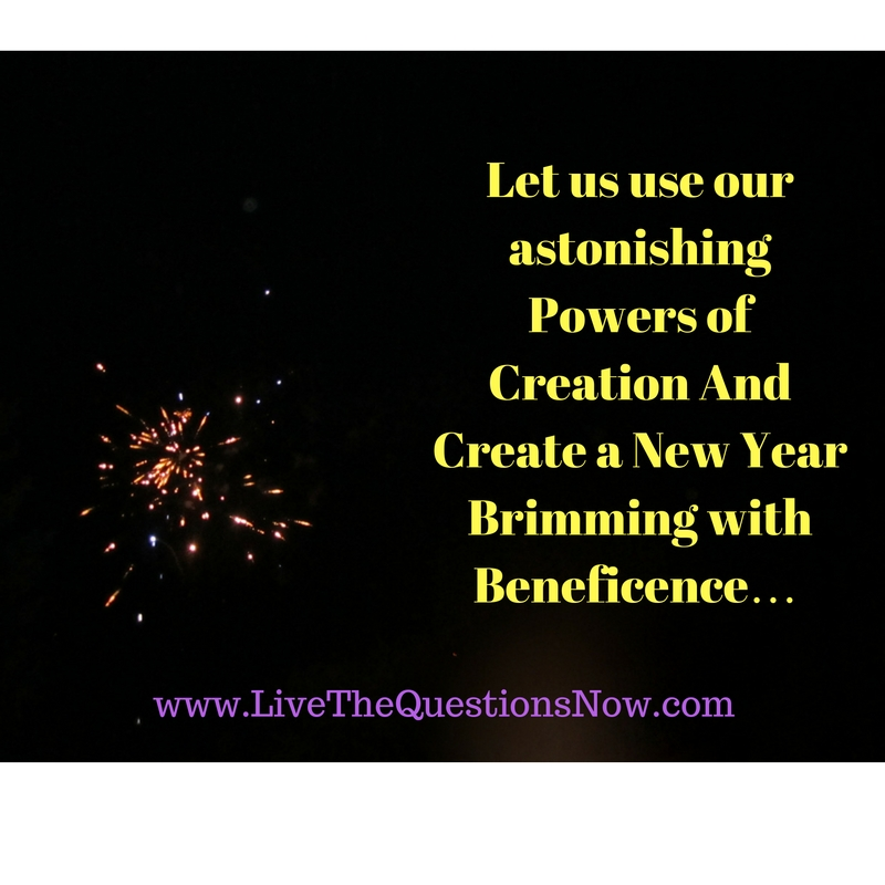 New Year\'s Eve Reflection | Live The Questions Now