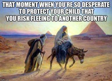 Nativity Refugee Crisis