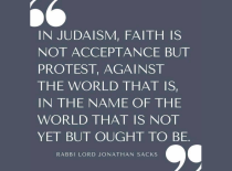 Judaism Faith as Protest
